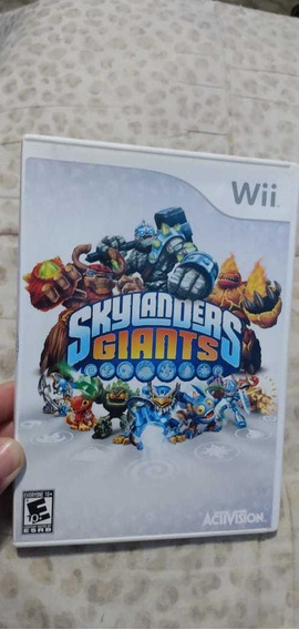 Skylanders Giants Original Para Wii
