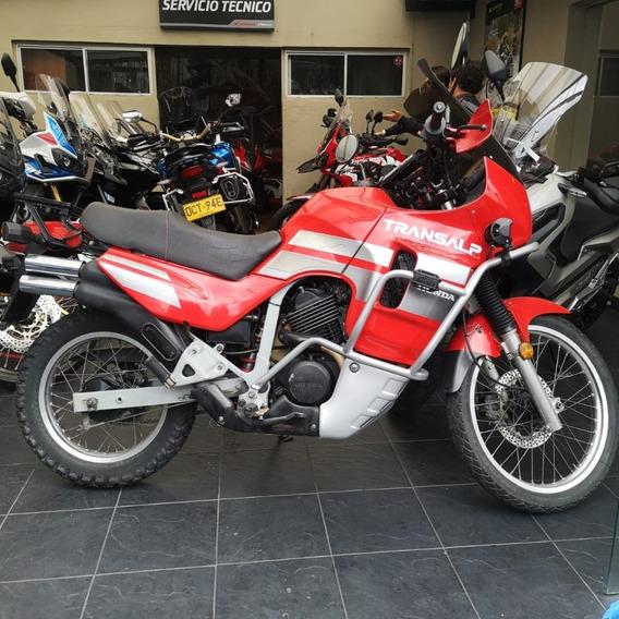 Honda Transalp 600 Roja (clasico)