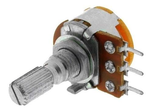 Imagen 1 de 2 de Potenciometro Logaritmico 10k 1v 16mm X10 Unidades
