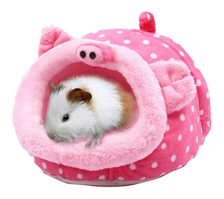 Janyoo Chinchilla Erizo Guinea Pig Cama Jaula Accesorios