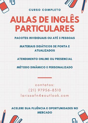 Aulas Particulares/curso Particular De Inglês