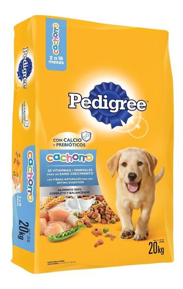 Alimento Para Perro Pedigree Cachorro Bulto 20 Kg