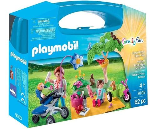 Playmobil Family Fun 9103 - Maletin Picnic Familiar - Intek