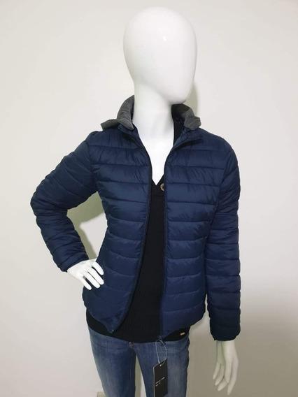 Jaqueta Feminina Inverno Com Capuz