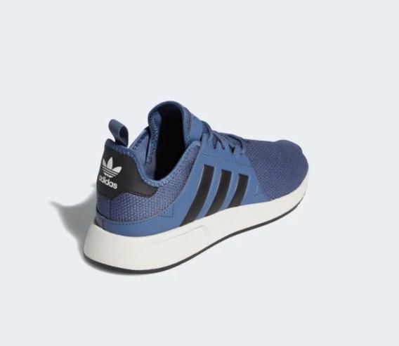 Tenis adidas X_plr Azul C/ Franjas Negras Urbano.