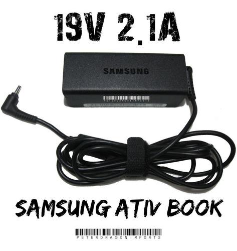 Imagen 1 de 1 de Cargador Genuino Para Samsung Ativ Book 9 Serie 19v 2.1a 40w