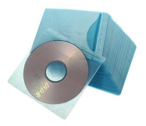 Fundas De Felpa Para Cd / Dvd X3 Pack De 100unds. C/u