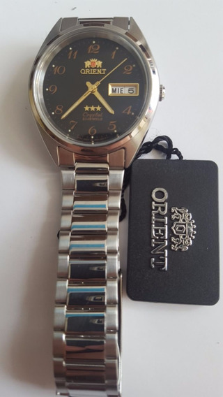 Relógio Oriente Automático Preto