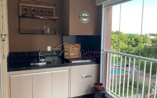 Ótimo Apartamento Com Varanda Gourmet No Jardim Das Indústrias