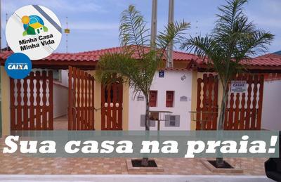 Casa A Venda No Bairro Santa Julia Em Itanhaém - Sp. - 119-1