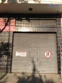 Galpão Comercial Para Locação, Pari, São Paulo. - Ga0042