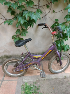 Bicicleta De Niño/a Fisher Flash