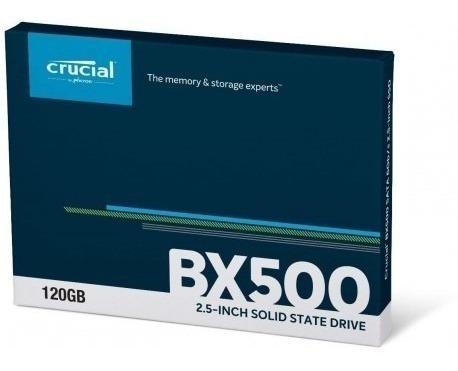 Ssd-crucial Bx500 120gb 3d Nand Sata 2.5-inch Internal Ssd