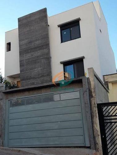 Imagem 1 de 29 de Sobrado Com 3 Dormitórios À Venda, 240 M² Por R$ 1.250.000,00 - Vila Clotilde - Guarulhos/sp - So0752