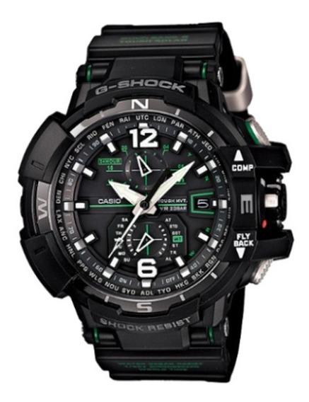 Relógio Casio G-shock Gw-a1100-1a3 (bateria Solar)