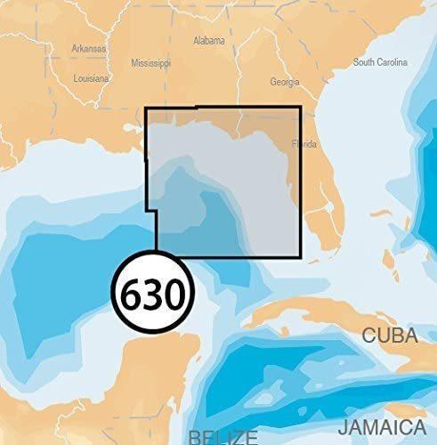 Imagen 1 de 4 de Navionics Nav- Platinum Eastern Golfo De Mexico En Tarjeta