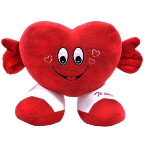 Coração Te Amo 32cm - Pelúcia
