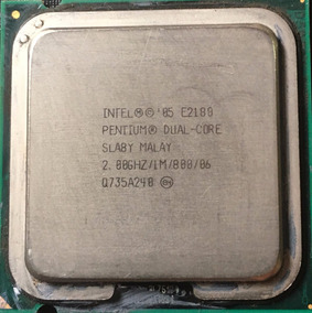 Pocessador Intel Pentium Dual-core E2180/1m/800/06 2.0ghz
