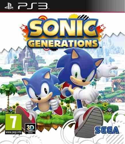 Sonic Generations - Jogos Ps3 Playstation 3