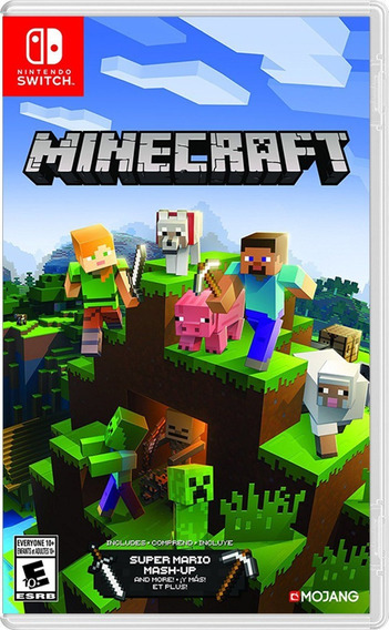 ..:: Minecraft ::.. Para Nintendo Switch A Meses