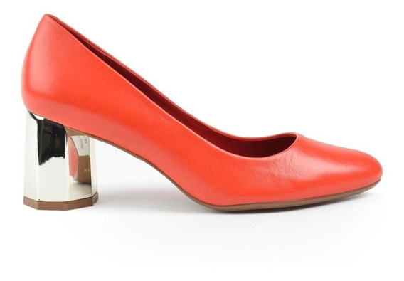 Zapatos De Mujer De Cuero Vestir Menorca Rosa - Ferraro