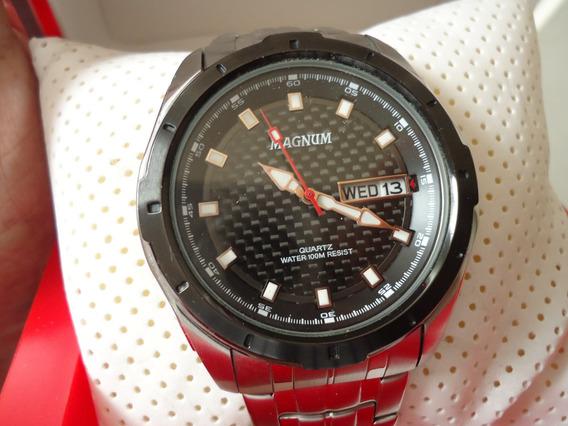 Relógio Magnum Ma320141, Seminovo Pulseira Completa Quartz