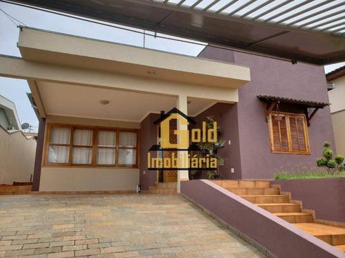 Casa Térrea Com 4 Dormitórios E 2 Suites No Bairro Ribeirania Na Cidade De Ribeirão Preto-s.p. - Ca0813