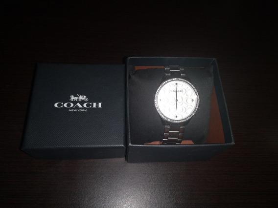 Reloj Coach Plateado Mujer