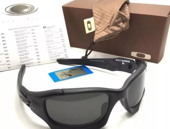 Oculos De Sol Pit Boss Barato Preto Fosco + Cartão Teste!!!!