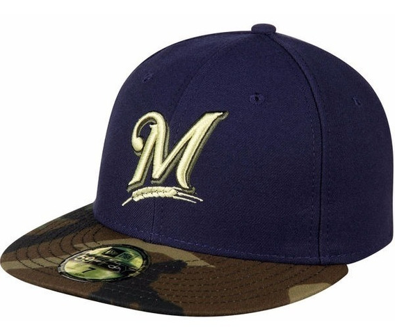 Gorra New Era De Los Milwaukee Brewers