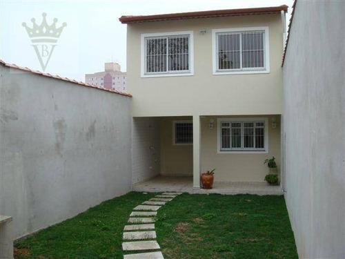 Casa Com 3 Dormitórios À Venda, 200 M² Por R$ 1.700.000,00 - Vila Prudente (zona Leste) - São Paulo/sp - Ca0186