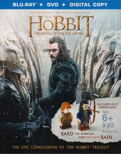 Hobbit La Batalla De Los 5 Cinco Ejercitos Blu-ray + Legos
