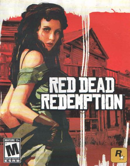 Manual De Instrucoes Red Dead Redemption /original/ Play3