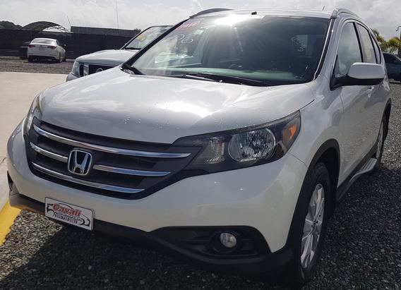 Honda Crv Awd Blanca 2014
