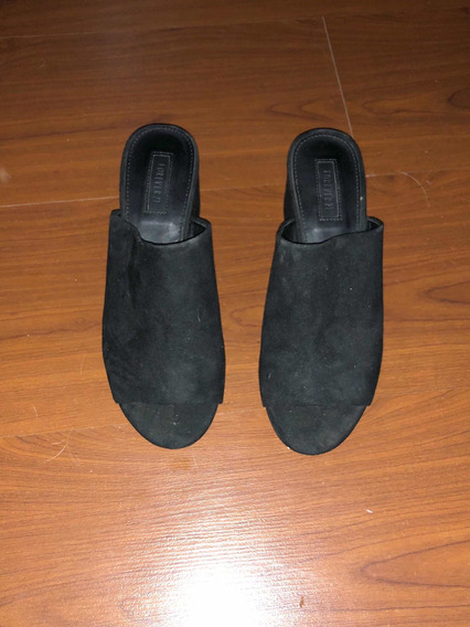 Zapatos Mules Loafer Forever 21 Talle 37