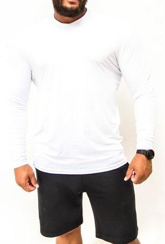 Camisa Térmica Com Proteção Solar Uv 50+ Plus Size G2 A G6