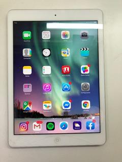 iPad Air 32gb A1474 Blanco Pantalla Rota Pero Funcionando