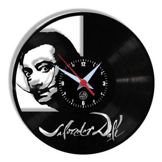 Relógio De Parede Vinil - Salvador Dali Artista