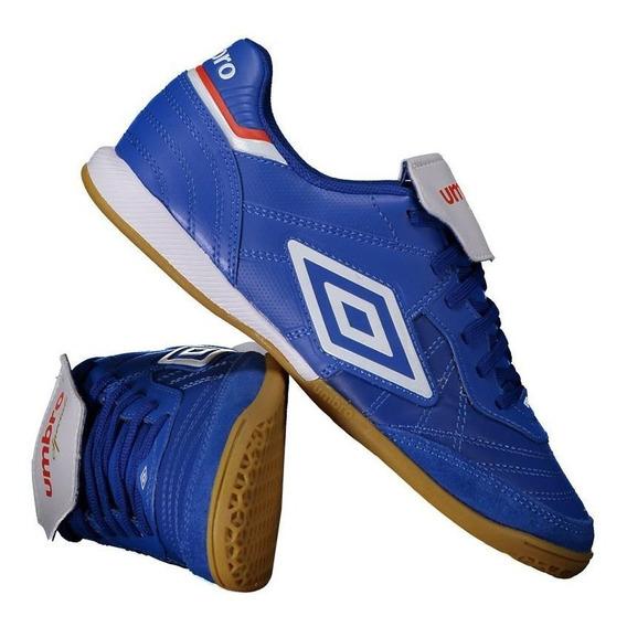 Chuteira Umbro Speciali Iii Premier Futsal Azul