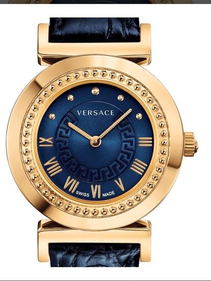 Reloj Versace Dama Vanity Azul