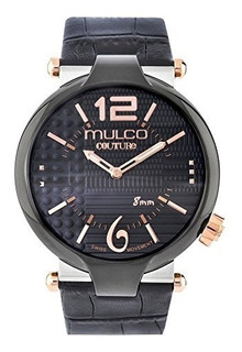 Mulco Couture Slim Mw5-3183-025 Cuero Reloj Hombre