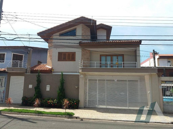 Sobrado Com 4 Dormitórios À Venda, 278 M² Por R$ 720.000,00 - Wanel Ville - Sorocaba/sp - So0572