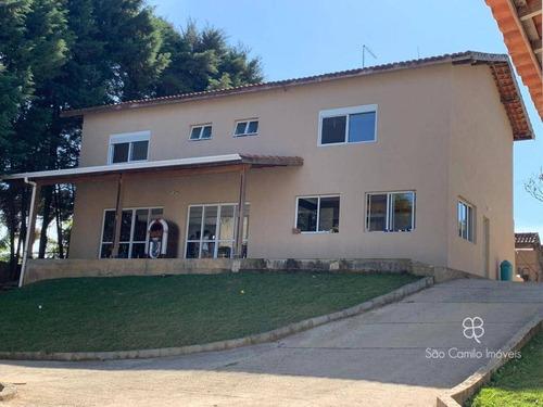 Imagem 1 de 30 de Casa Com 4 Dormitórios À Venda, 385 M² Por R$ 1.700.000,00 - Granja Viana - Cotia/sp - Ca1952