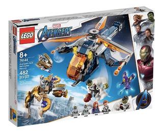 Lego Avengers Rescate En Helicóptero De Hulk 76144