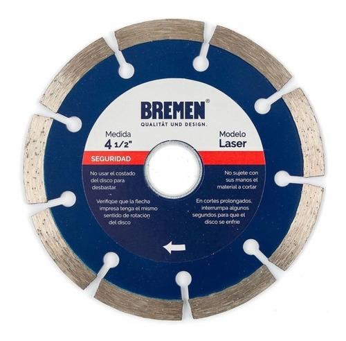 Disco Diamantado Laser 230mm (9 Pulgadas) Bremen 4531