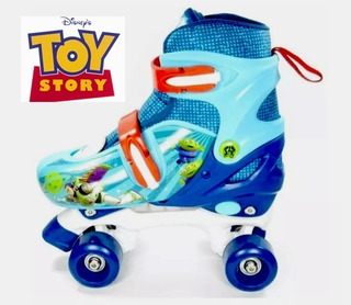 Patines Roller Clasicos Toy Story 19-21 Cm Juguete Niños