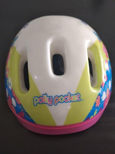 Casco Para Bicicleta Niñas Polly Pocket