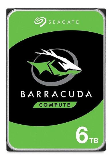 Disco rígido interno Seagate Barracuda ST6000DM003 6TB