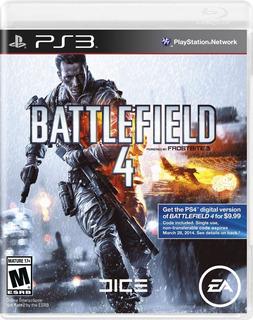 Battlefield 4 - Ps3 - Juego Fisico - Megagames