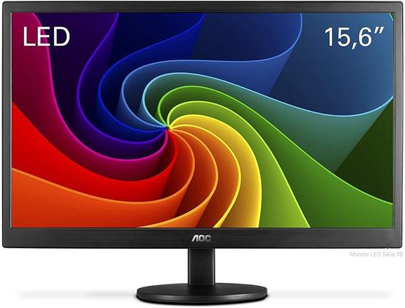 Monitor Aoc Led Aoc 15.6 Polegadas E1670swu/wm